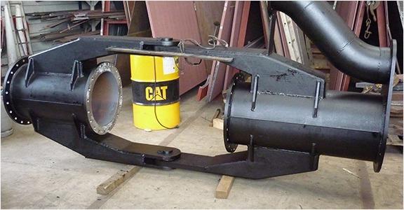 scheepswerf-matena-papendrecht-Bagger-materialen-Cardanstukken-Scharnierstukken