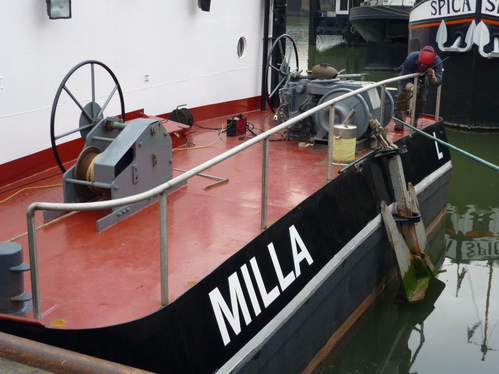 R.V.S.-reling-met-dekrond-voor-Milla-in-2009